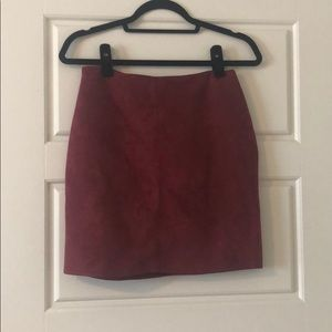 NWT -- red tight misguided skirt